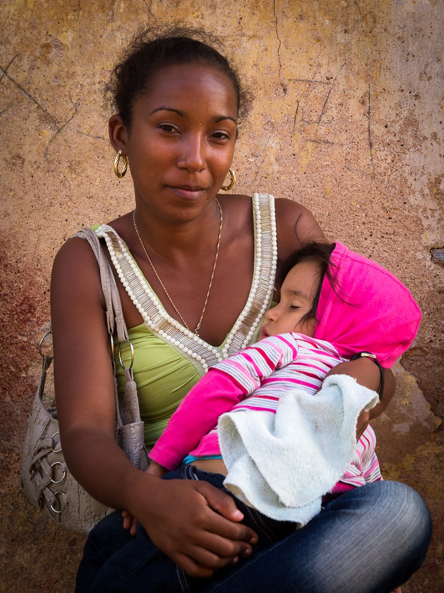 Cuban Woman with Child